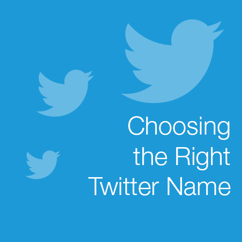 Choosing the Right Twitter Name